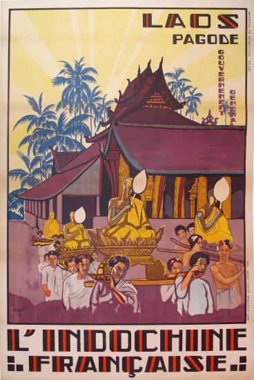Nghi lễ rước tượng đầu năm mới ở Wat Si Saket, một ngôi chùa Phật giáo ở Viêng Chăn, Lào. Được xây dựng vào năm 1818, đây là ngôi chùa cổ nhất còn lại ở Vientiane thời điểm đó.