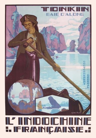 Nét hoang sơ của vịnh Hạ Long, kỳ quan số một của xứ Đông Dương thời thuộc địa.