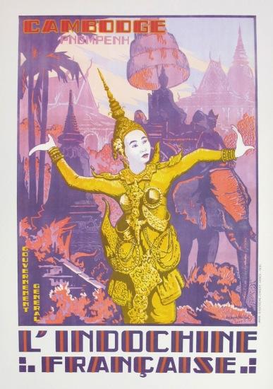 Nét đặc sắc của Phnompenh, Campuchia với những điệu múa Khmer, chùa tháp cổ kính cùng những chú voi diễu hành trong mùa lễ hội.