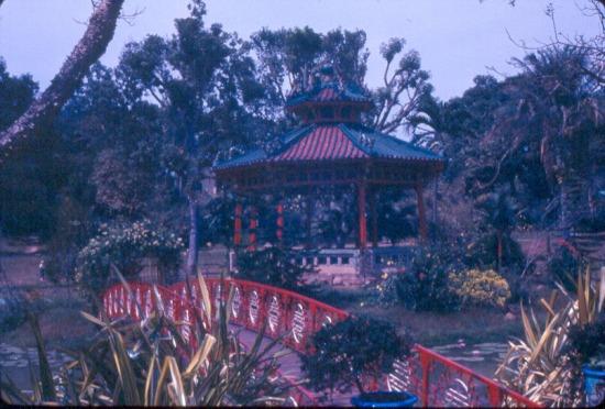 Một góc Thảo Cầm Viên Sài Gòn.