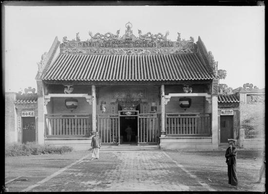 Miếu Thất Phủ của người Hoa ở Chợ Lớn, 1895.