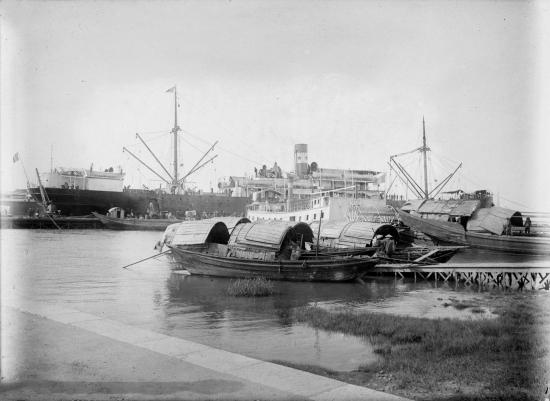 Cảng Sài Gòn, 1954.