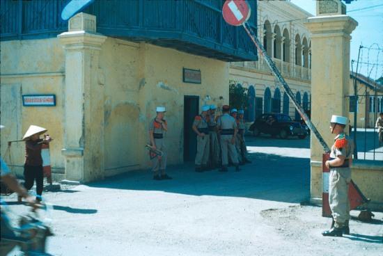 Bộ chỉ huy quân đội Lê Dương của Pháp ở Hải Phòng.