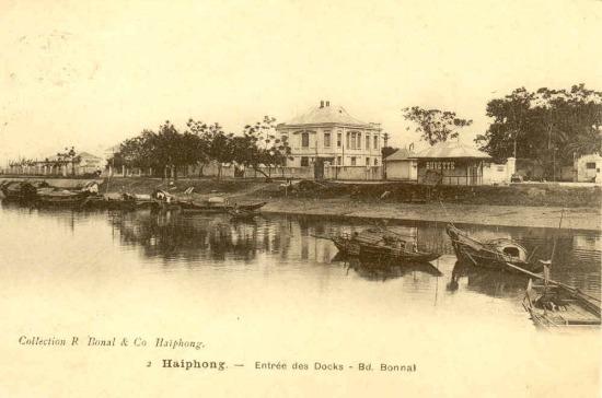 Sông Tam Bạc năm 1913.