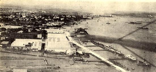 Hải Phòng một thế kỷ trước nhìn từ trên cao.
