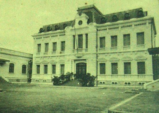 Tòa thị chính Hải Phòng.