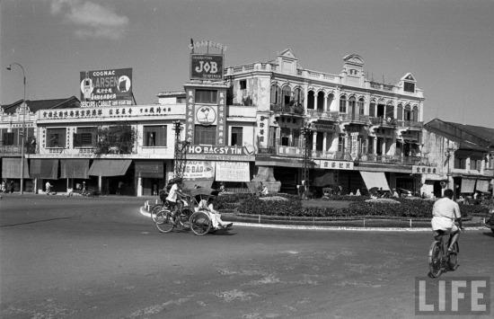 Chợ Lớn là tên của khu vực đông người Hoa sinh sống nằm ven kênh Tẻ ở Sài Gòn.
