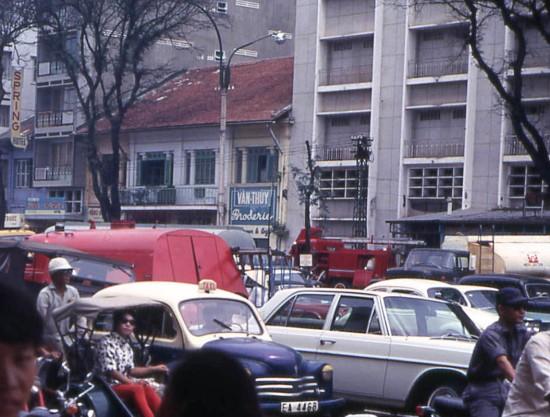Đại lộ Lê Lợi, Sài Gòn năm 1968.