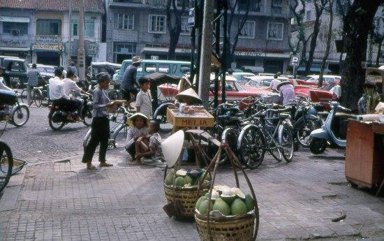 Một góc đại lộ Nguyễn Huệ.
