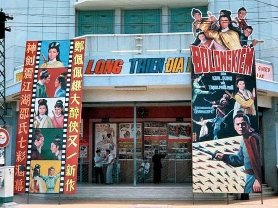 Một rạp khác chuyên chiếu phim chưởng Hồng Kông.