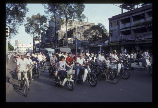 Trên đường Trần Hưng Đạo.