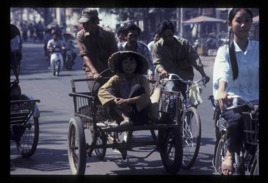 Trên đường Xô Viết Nghệ Tĩnh.