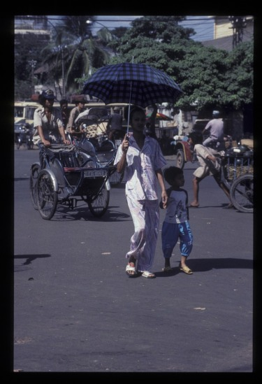 Trẻ em Sài Gòn.