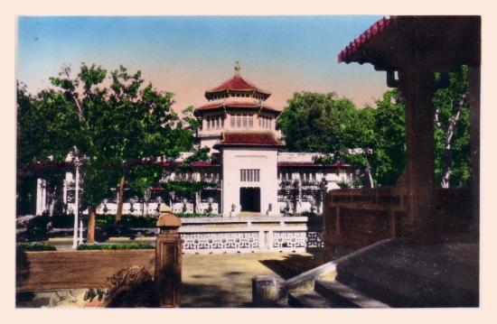 Viện Bảo tàng bề thế (ngày nay là Bảo tàng Lịch sử Việt Nam).