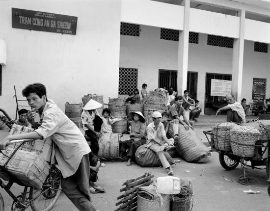 Trạm công an Ga Sài Gòn, TP HCM.