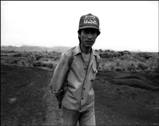 Người đàn ông ở Khe Sanh, Quảng Trị.