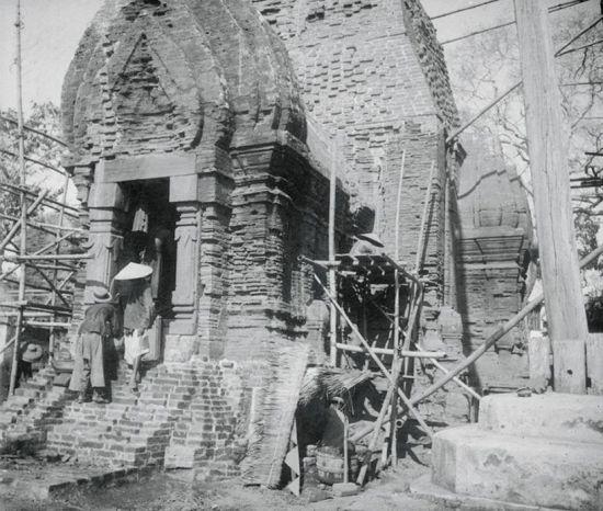 Tháp Chăm Po Nagar ở Nha trang năm 1905.